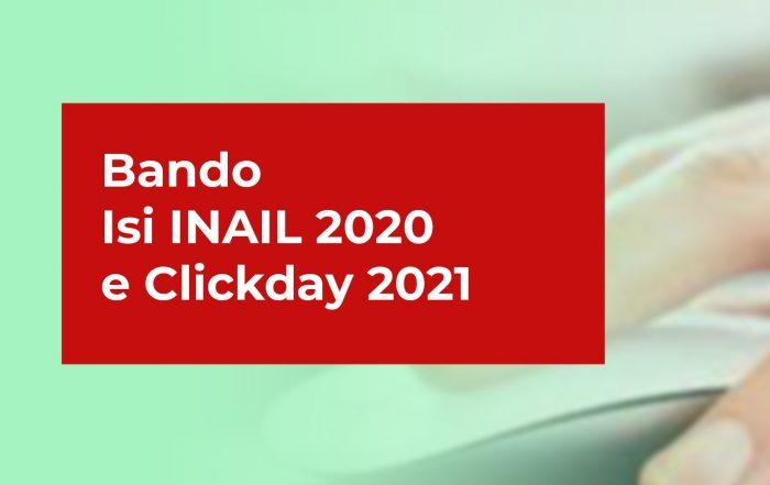 bando inail 2020 - clickday 2021
