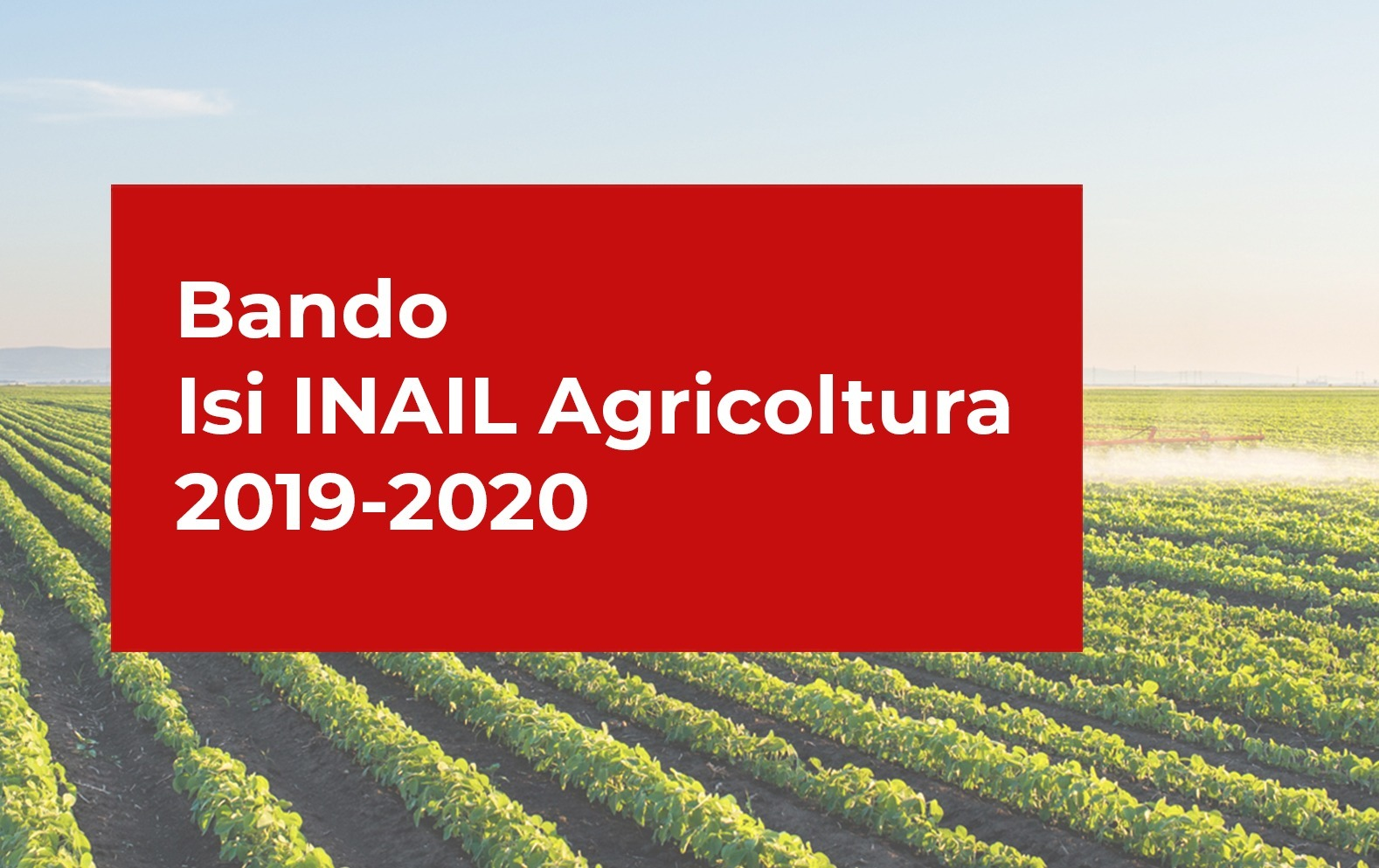 bando inail agricoltura 2019-2020
