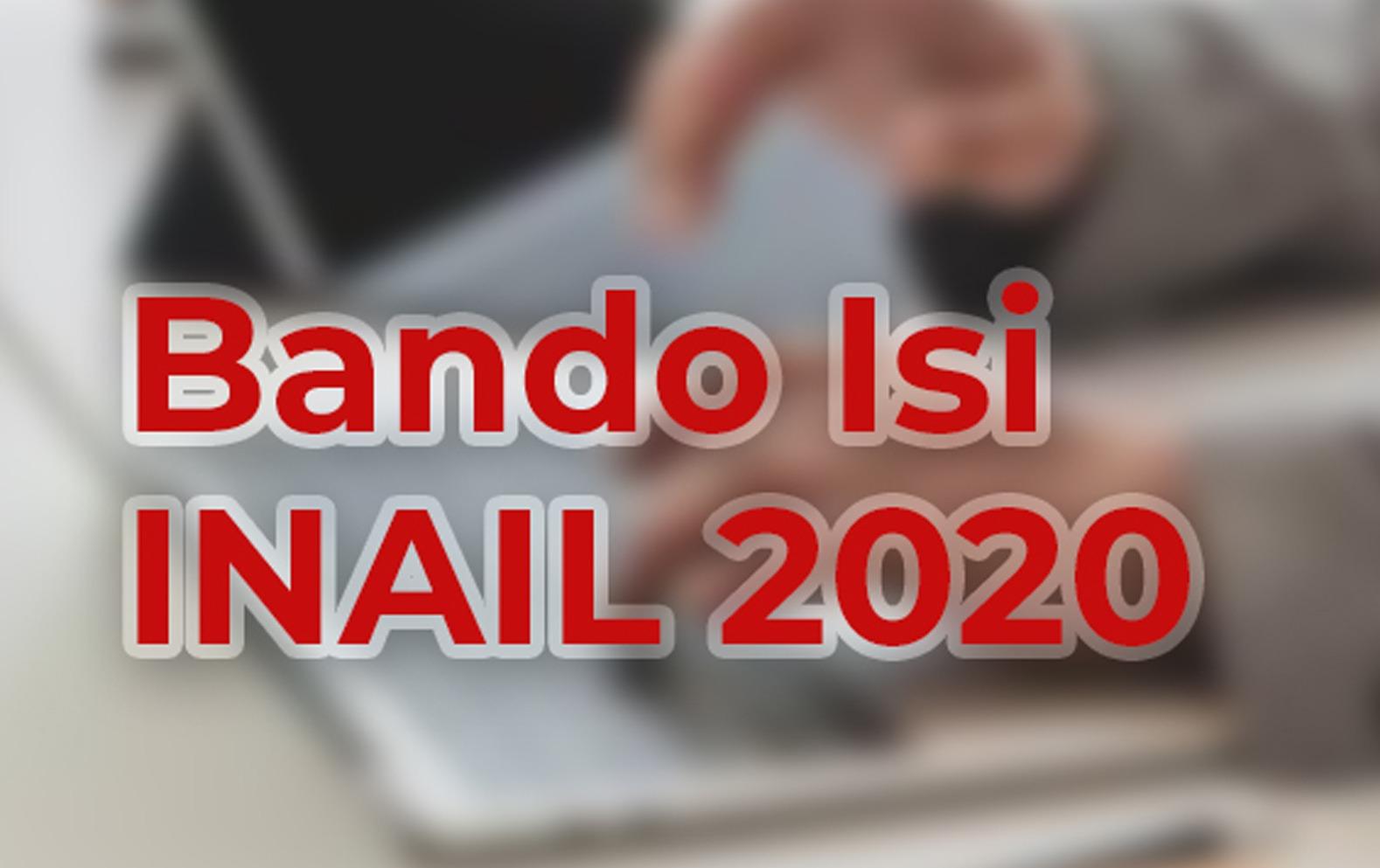 bando isi inail 2020