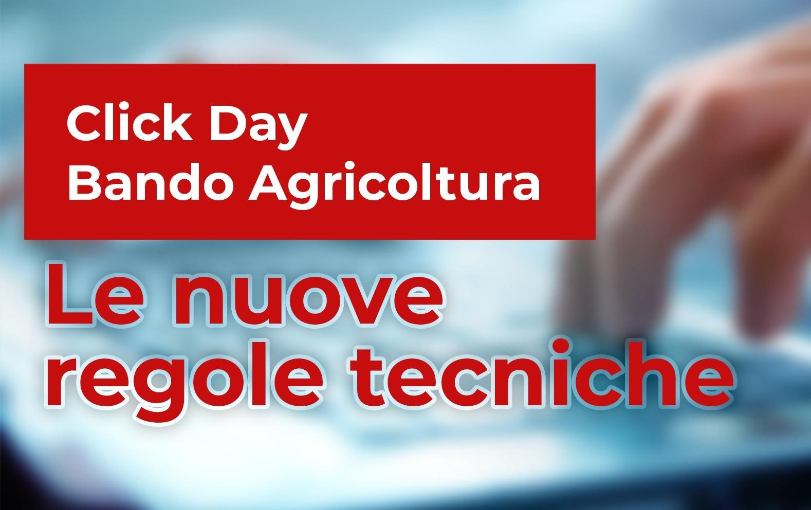 regole tecniche click day: bando agricoltura
