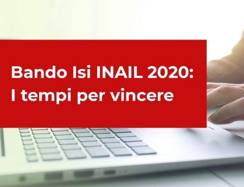 Bando Isi INAIL 2020 – I tempi per vincere