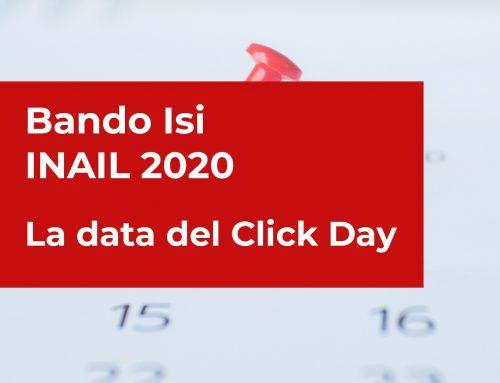 Bando Isi INAIL 2020 – La data del Click Day